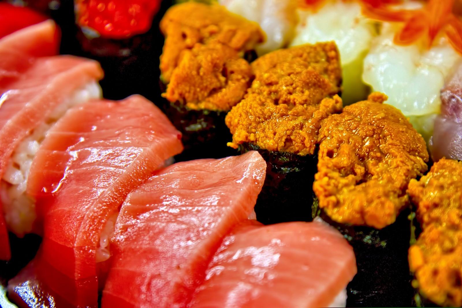 高級寿司の画像