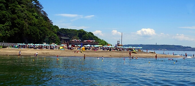 猿島 海水浴場