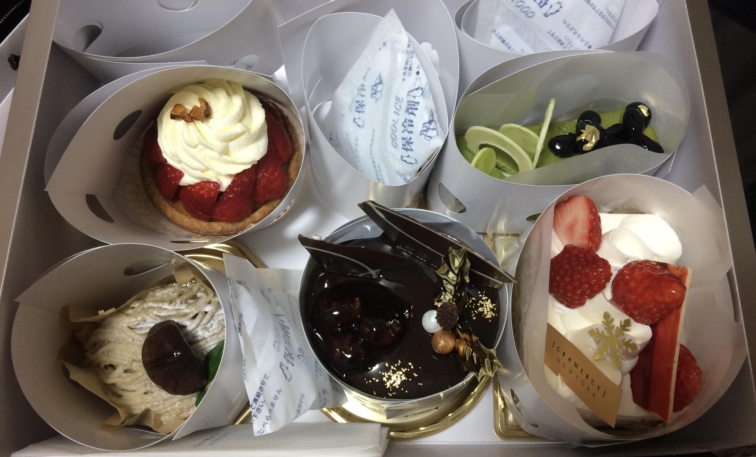グラマシーニューヨークケーキ