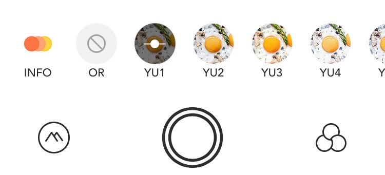 Foodieのフィルター画像
