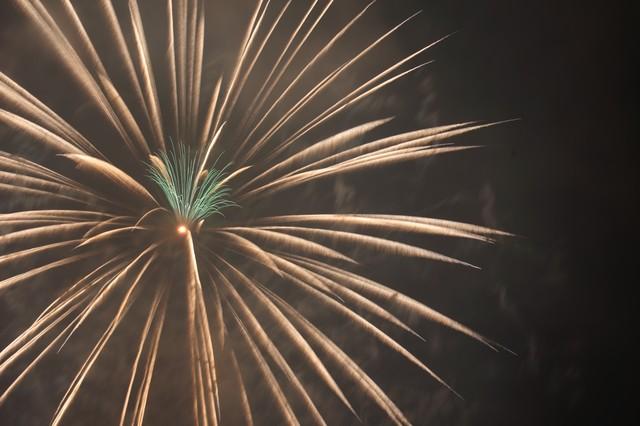 夜空に舞う綺麗な打ち上げ花火