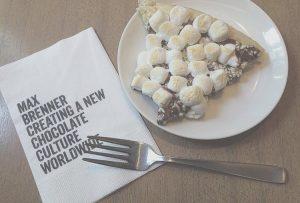 マックスブレナーのチョコレートチャンクピザ