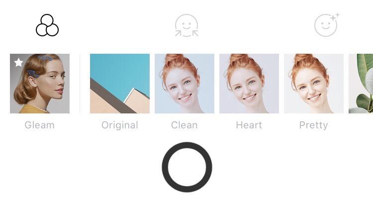 IPoneアプリB612の画像