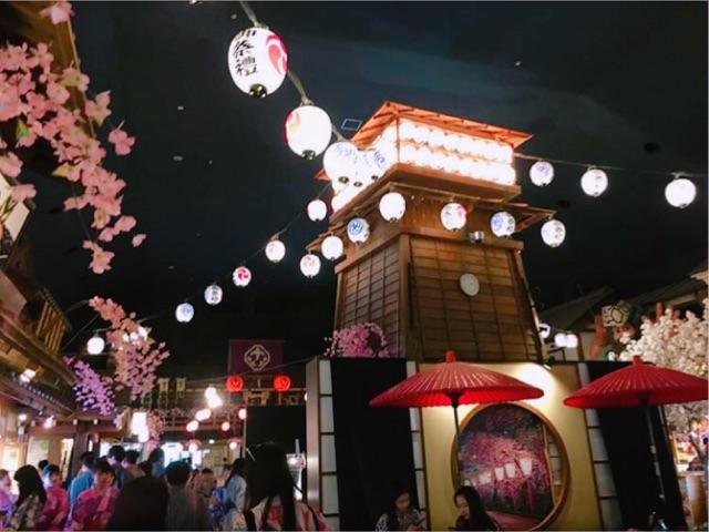 大江戸温泉物語の館内写真