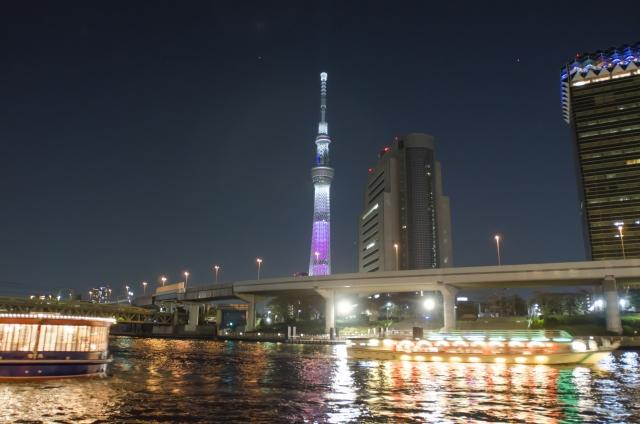 夜景デートにオススメの『東京スカイツリー』混雑情報やオススメの時間帯、館内施設を実際に行った私がまとめてご紹介します!