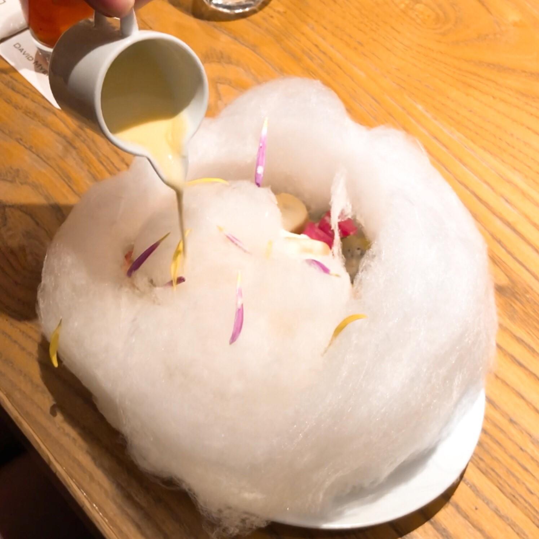 デイビット・マイヤーズカフェのコットンパンケーキの画像