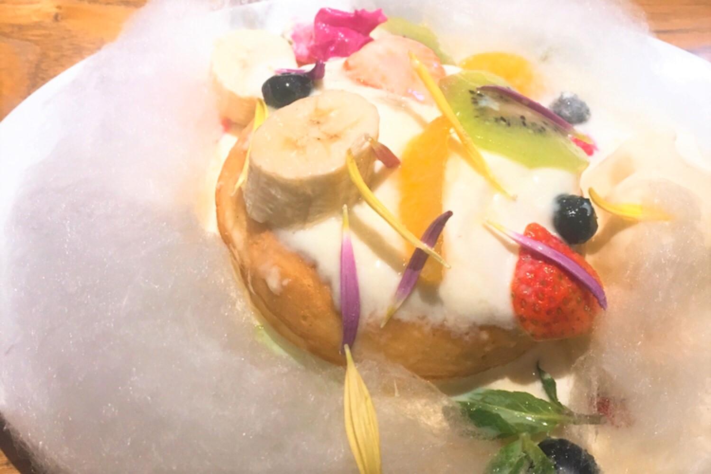 【銀座】デイビット・マイヤーズカフェの可愛すぎると話題のコットンキャンディパンケーキを食べに行ってみた!