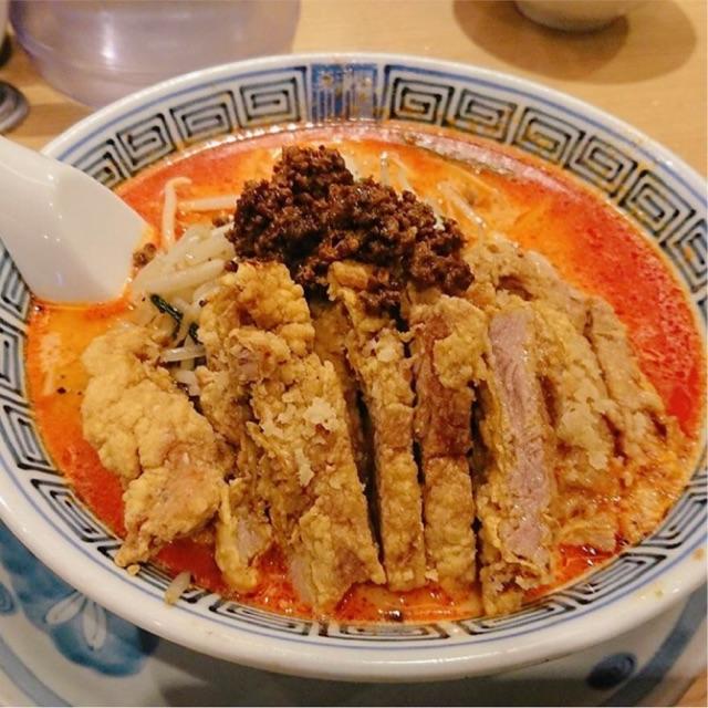 希須林の『排骨担々麺』