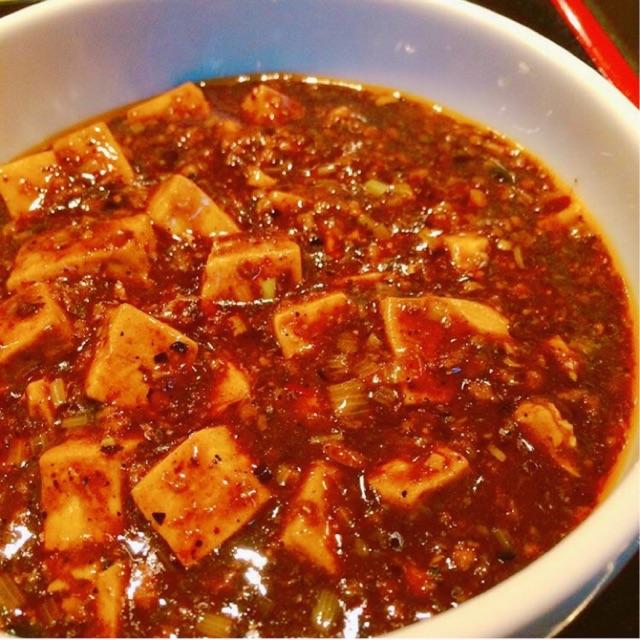 炎麻堂の『麻婆豆腐定食』