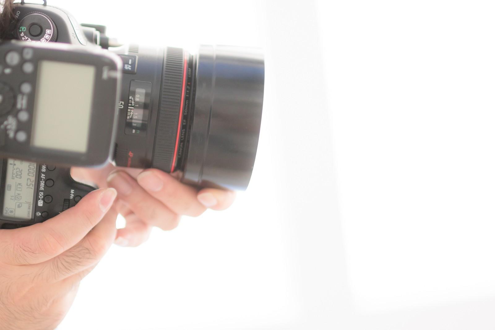 カメラで撮影する画像