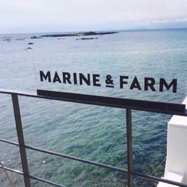 マリンファームから見える綺麗な海の写真②