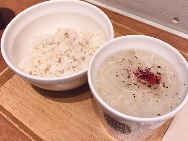 スープストックトーキョーの東京参鶏湯