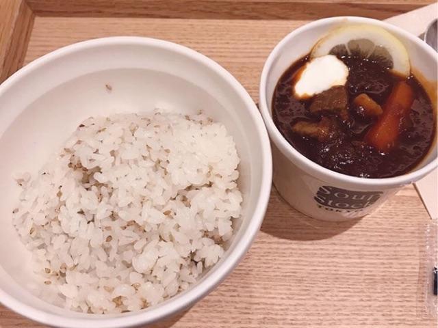 スープストックトーキョーの東京ボルシチ