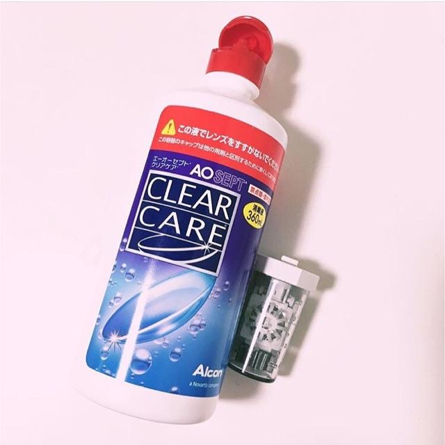コンタクト自動洗浄液『クリアケア』の写真