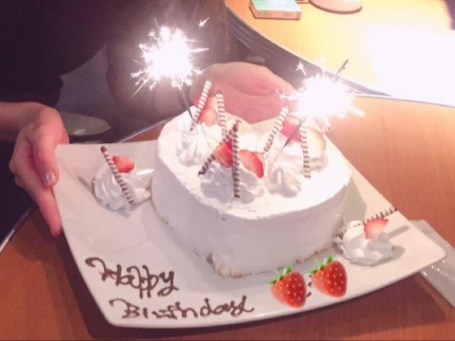 ブルーチェリーのサプライズケーキ(大人数用)