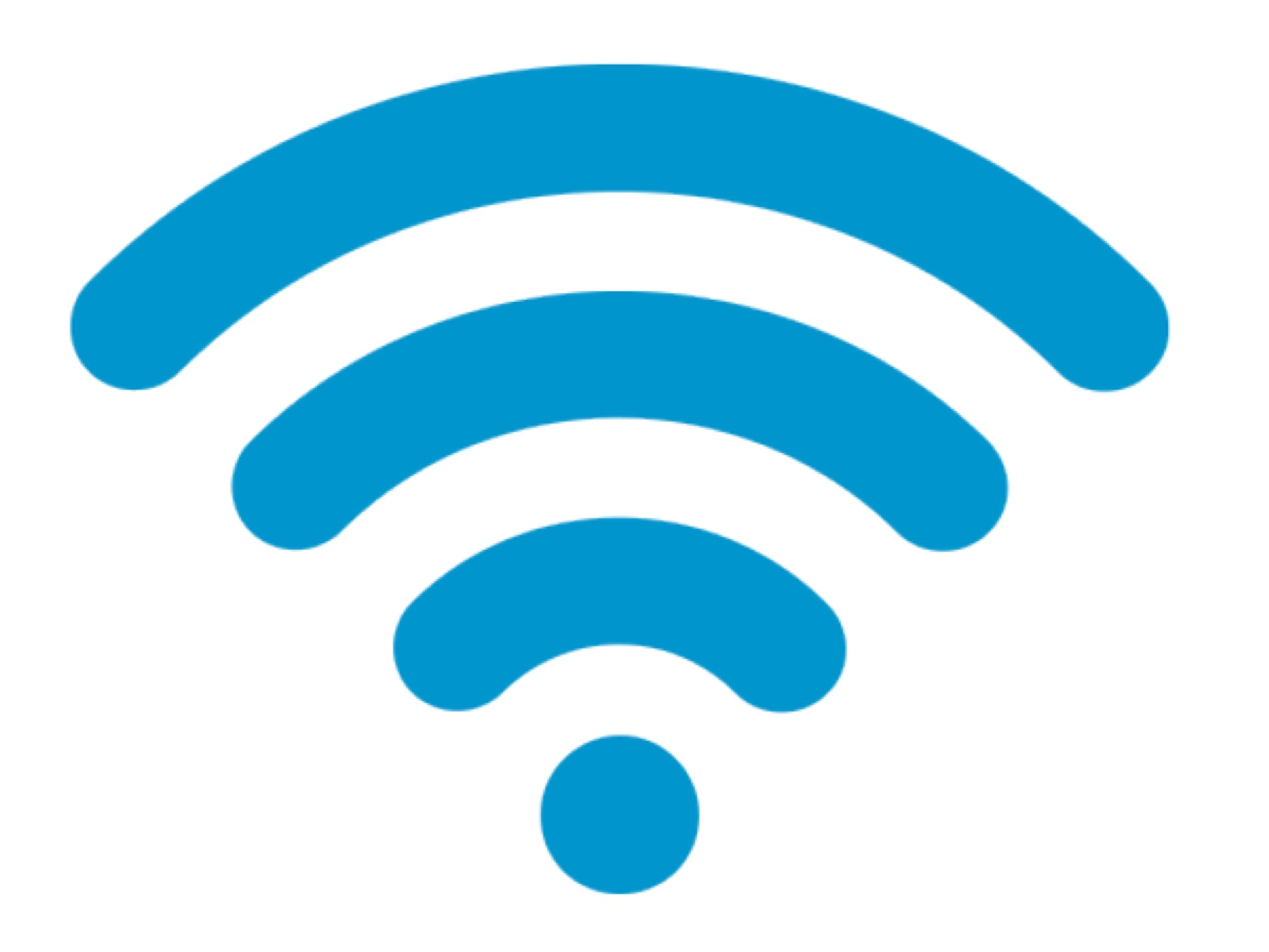 Wi-Fiの電波の画像