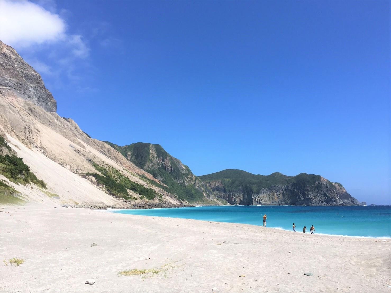 夏の神津島の海がやばすぎた!東京からフェリーで3時間の旅行をした感想☆