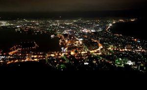 函館山から見た函館の夜景