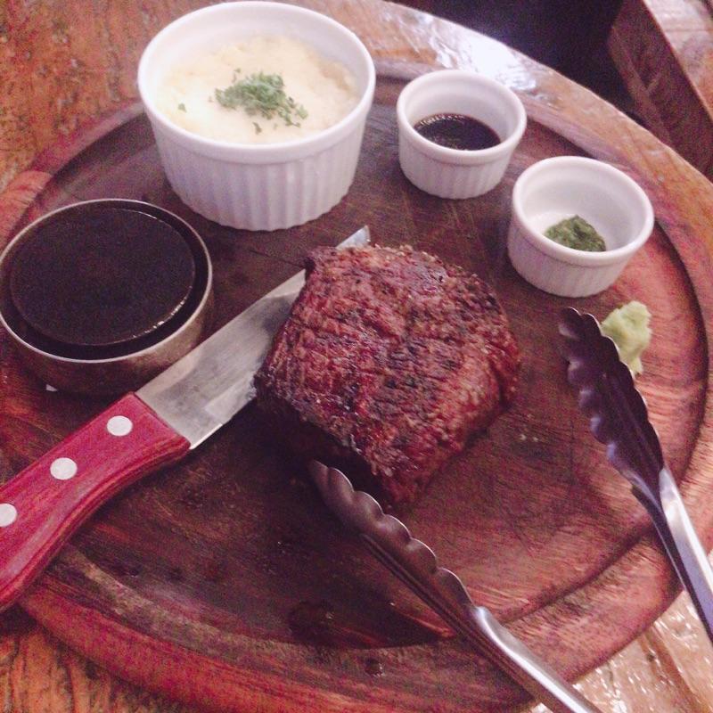2918の赤身肉ステーキ(イチボ)