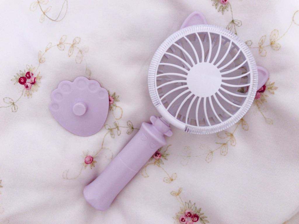 本当に涼しいの?韓国で流行中の『ハンディ扇風機』を使ってみた感想・レビュー☆