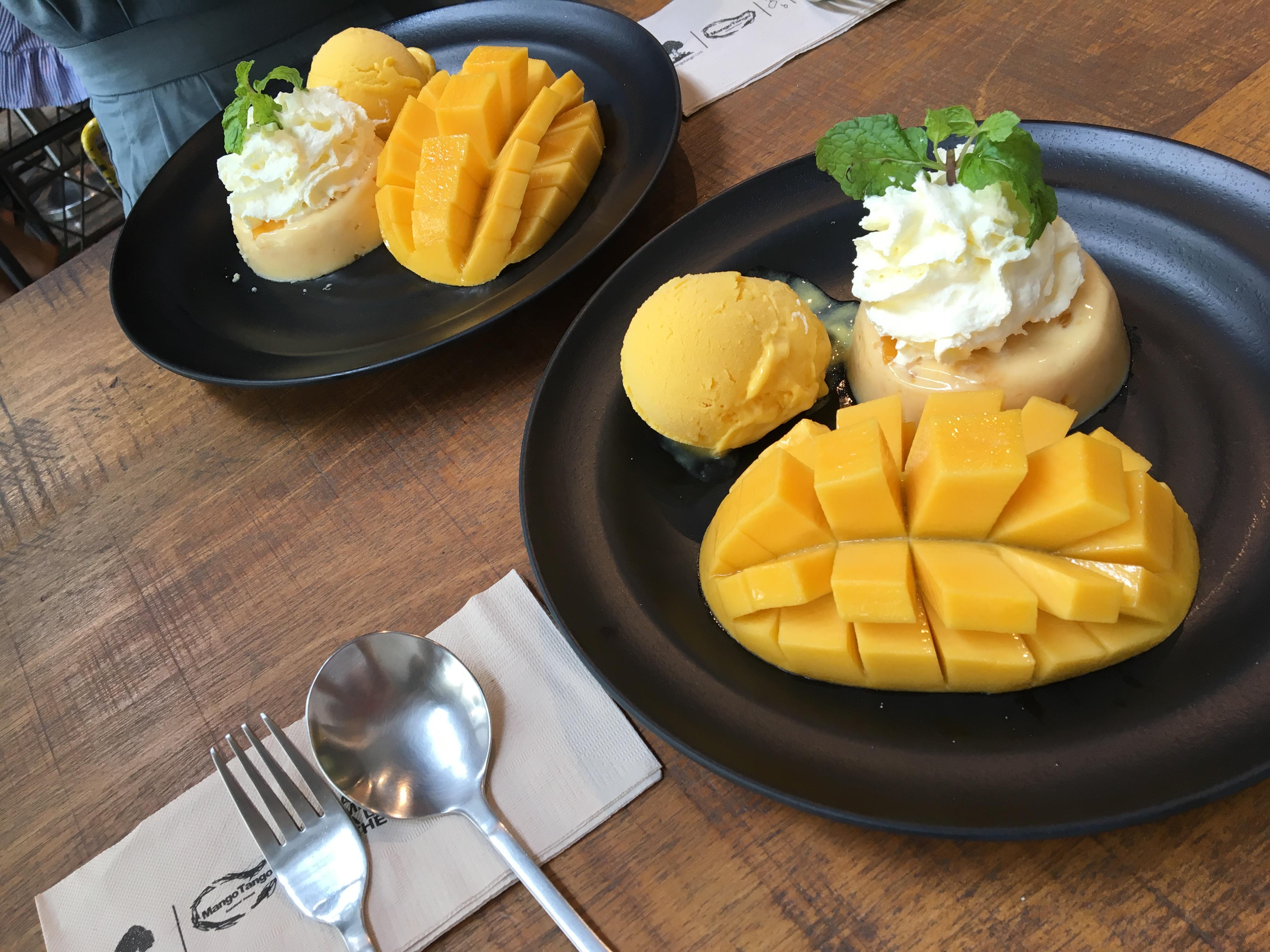 タイで大人気のマンゴースイーツ専門店『Mango Tango』に行ってきました!マンゴースイーツを食べるならここがオススメ!