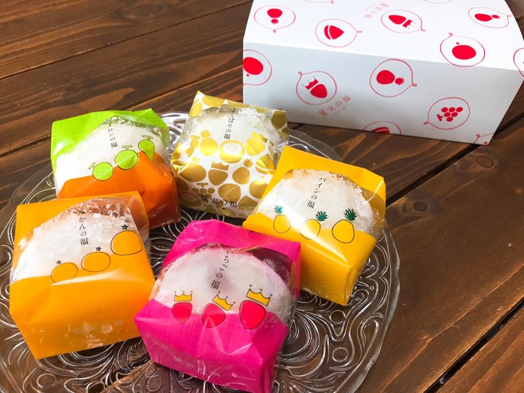 スイーツ好き必見!『果実の福 ninigi』のフルーツが丸ごと入った贅沢大福をご紹介します☆