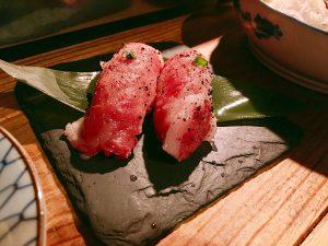 四五六の肉寿司の画像