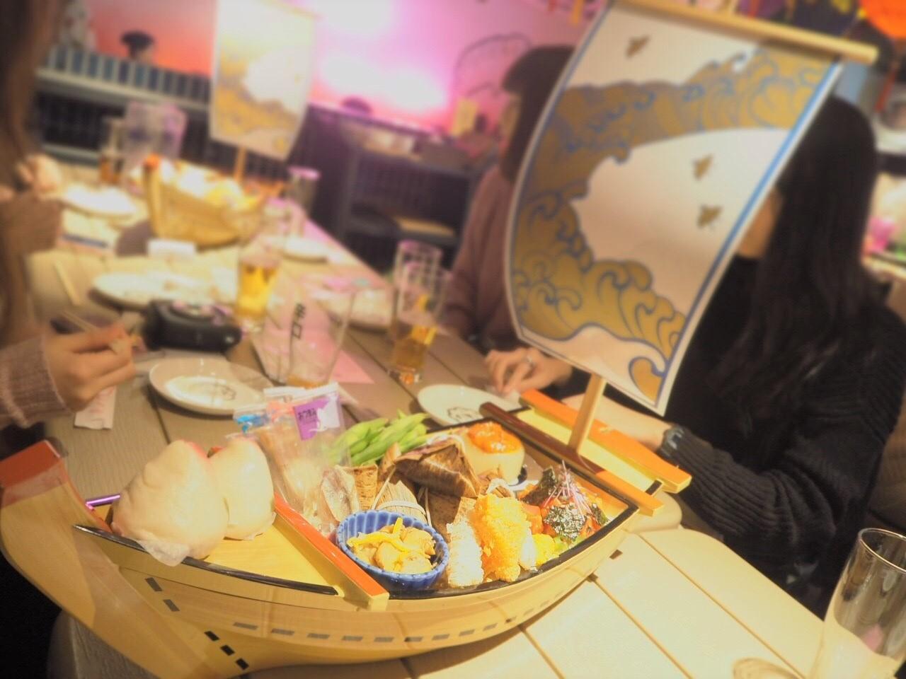 新宿サナギの船盛の画像