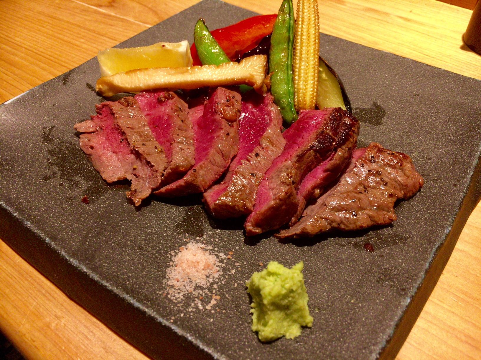 宇田川紫扇の和牛のサーロインの画像