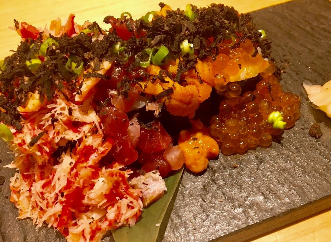 宇田川紫扇の紫扇風 こぼれ寿司の画像