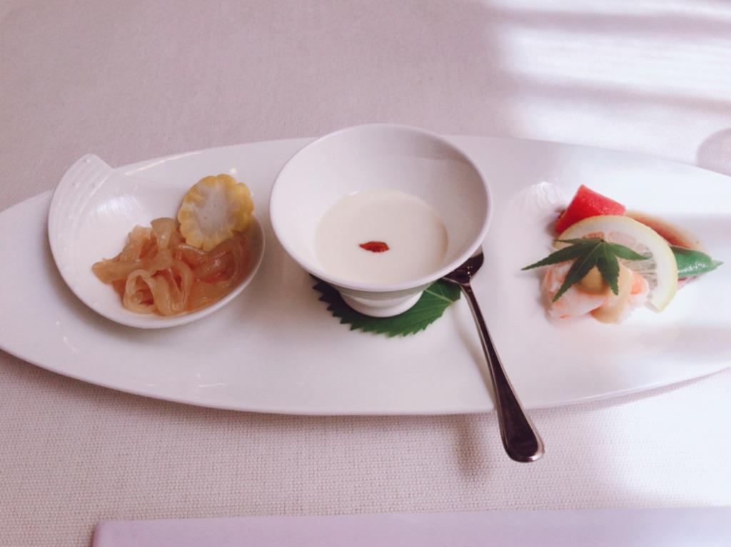 コキデンの前菜3種