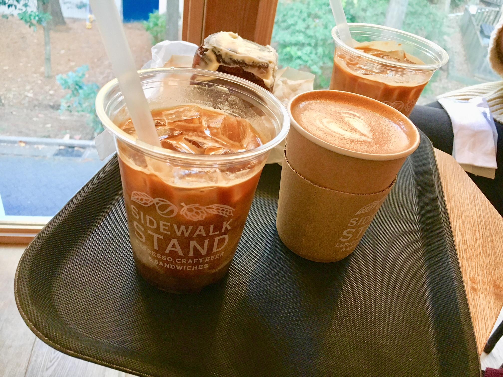 SIDEWALK STAND INOKASHIRAのコーヒーの画像