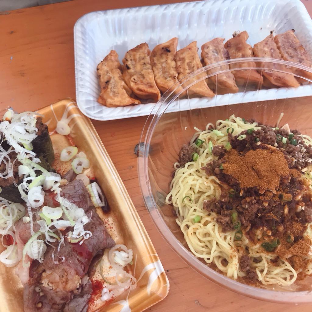 激辛グルメ祭り3rdで食べた料理