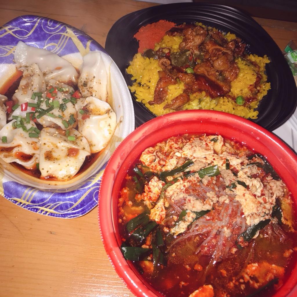 激辛グルメ祭り4thで食べた料理
