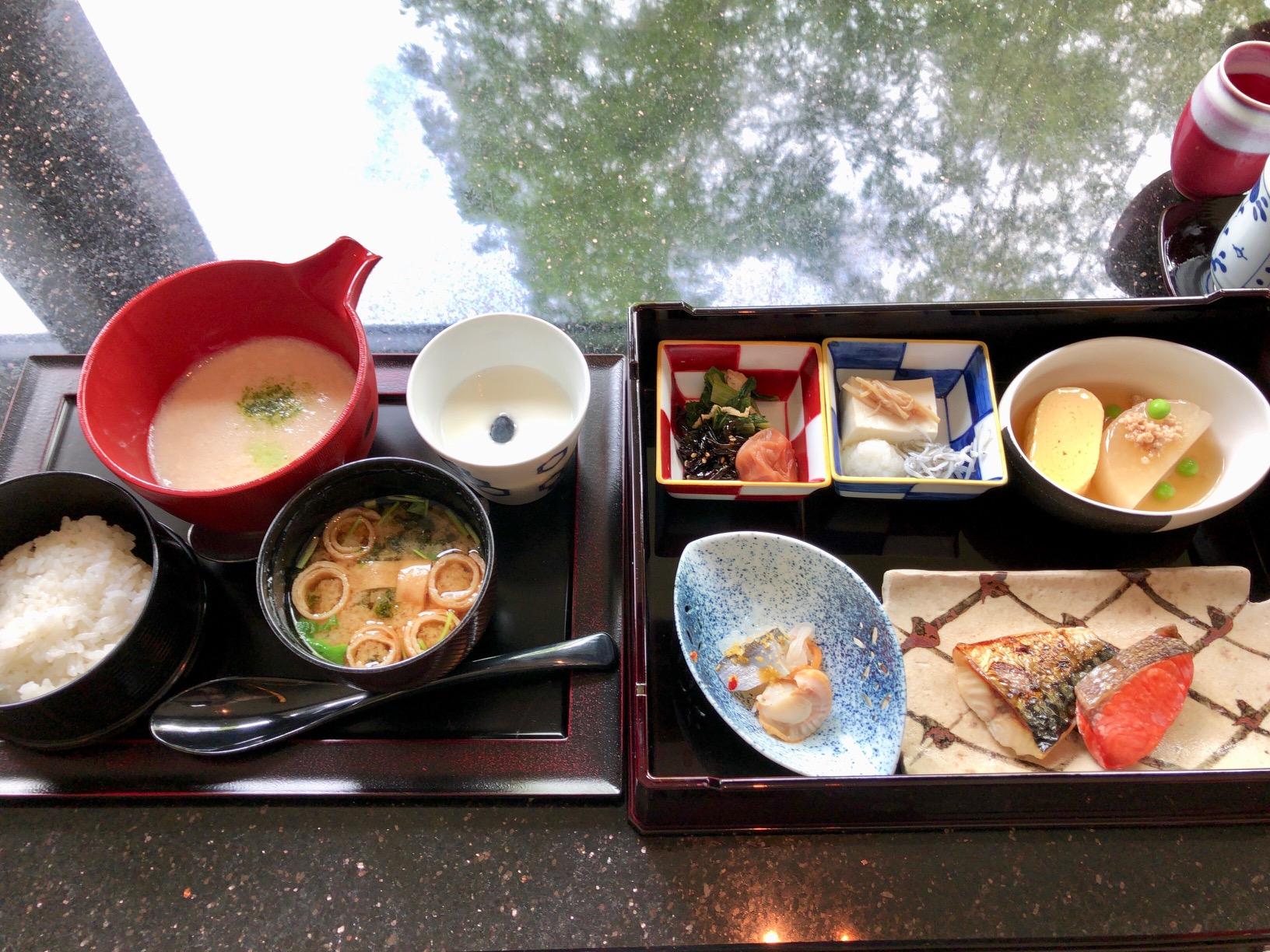 箱根 華暦の朝食の画像
