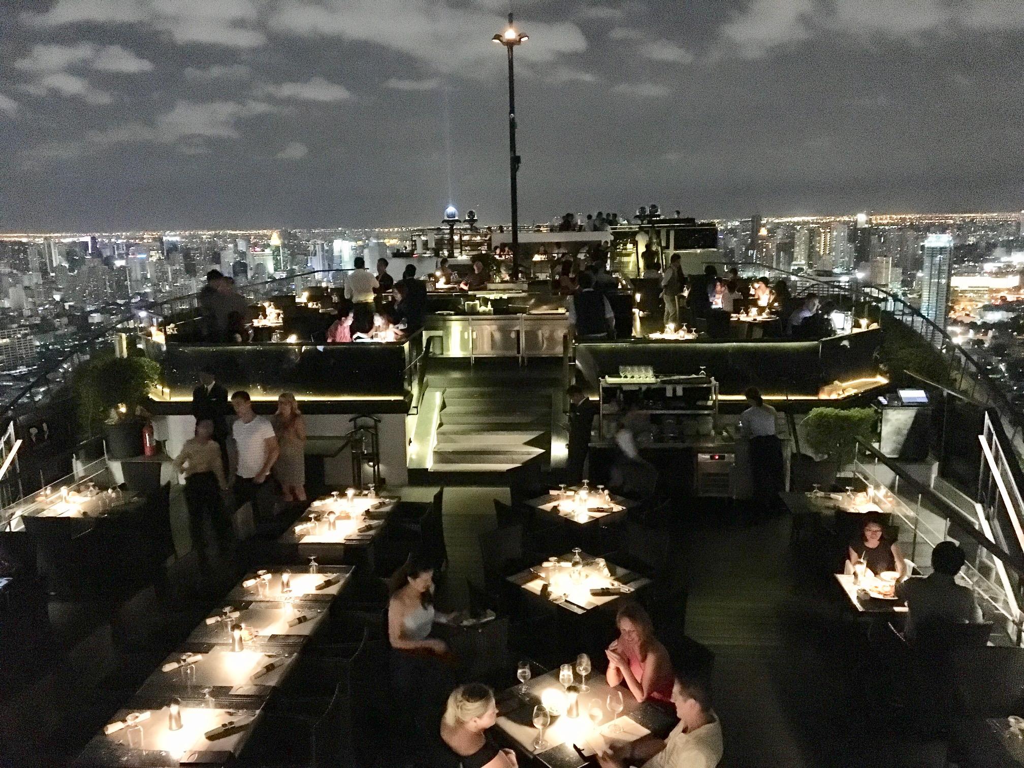 バンコクの絶景を望めるBarでセレブ気分!5つ星ホテル『Banyan Tree Bangkok』のルーフトップバーに行ってきた感想☆