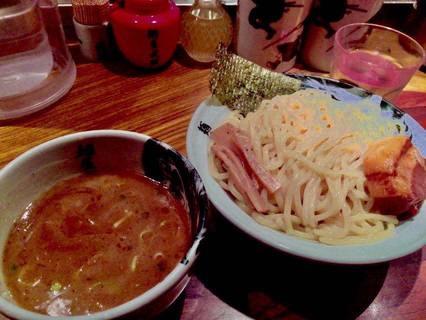 虎洞のつけ麺の画像