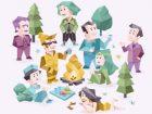 16パーソナリティズの16キャラクター