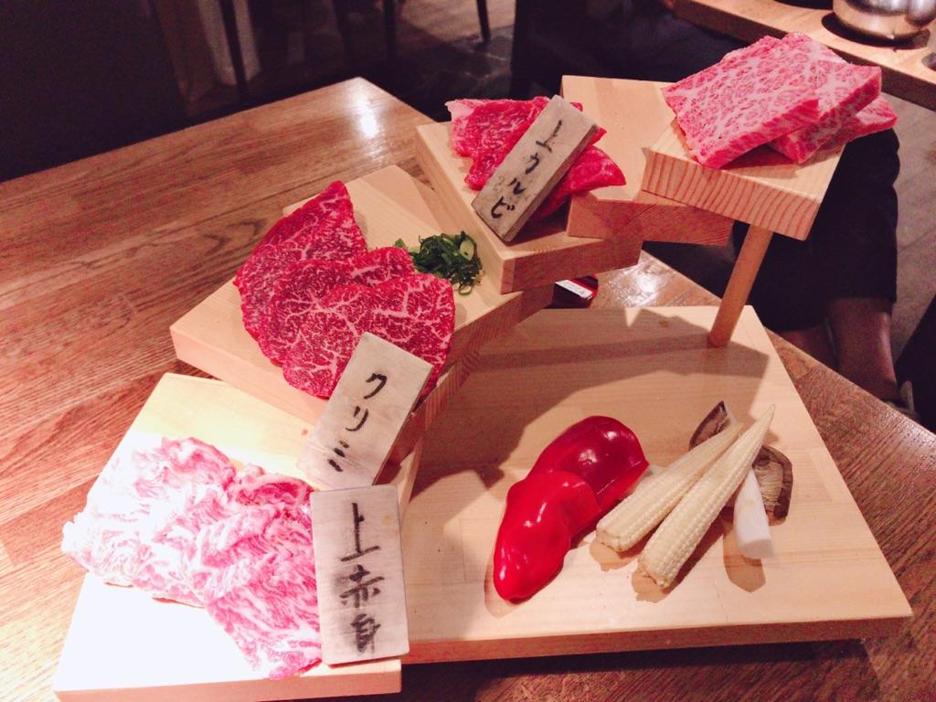 【初台】食べログ★3.51!神戸牛階段盛り&肉鍋が美味しい『びいどろ』に行って来たレビュー・感想☆