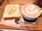 FEBRUARY CAFEの朝パンセットの画像