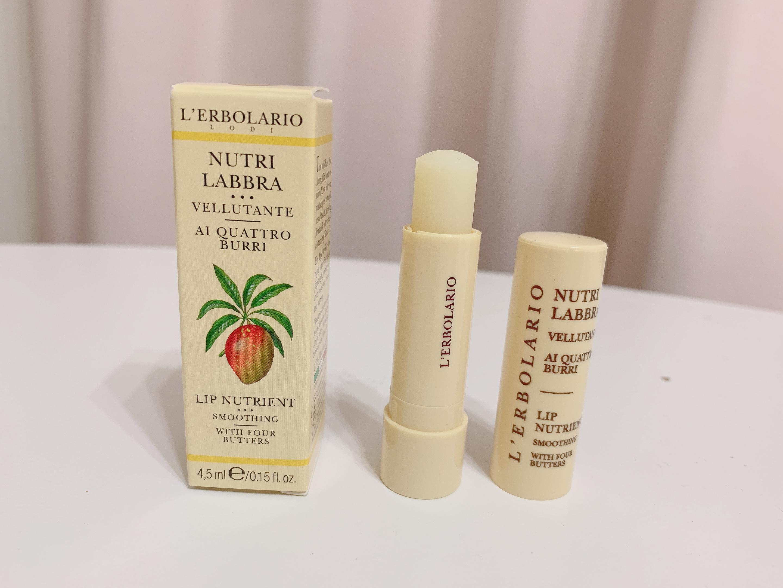 イタリアの人気お土産L'ERBOLARIO(レルボラリオ)のリップクリームの画像