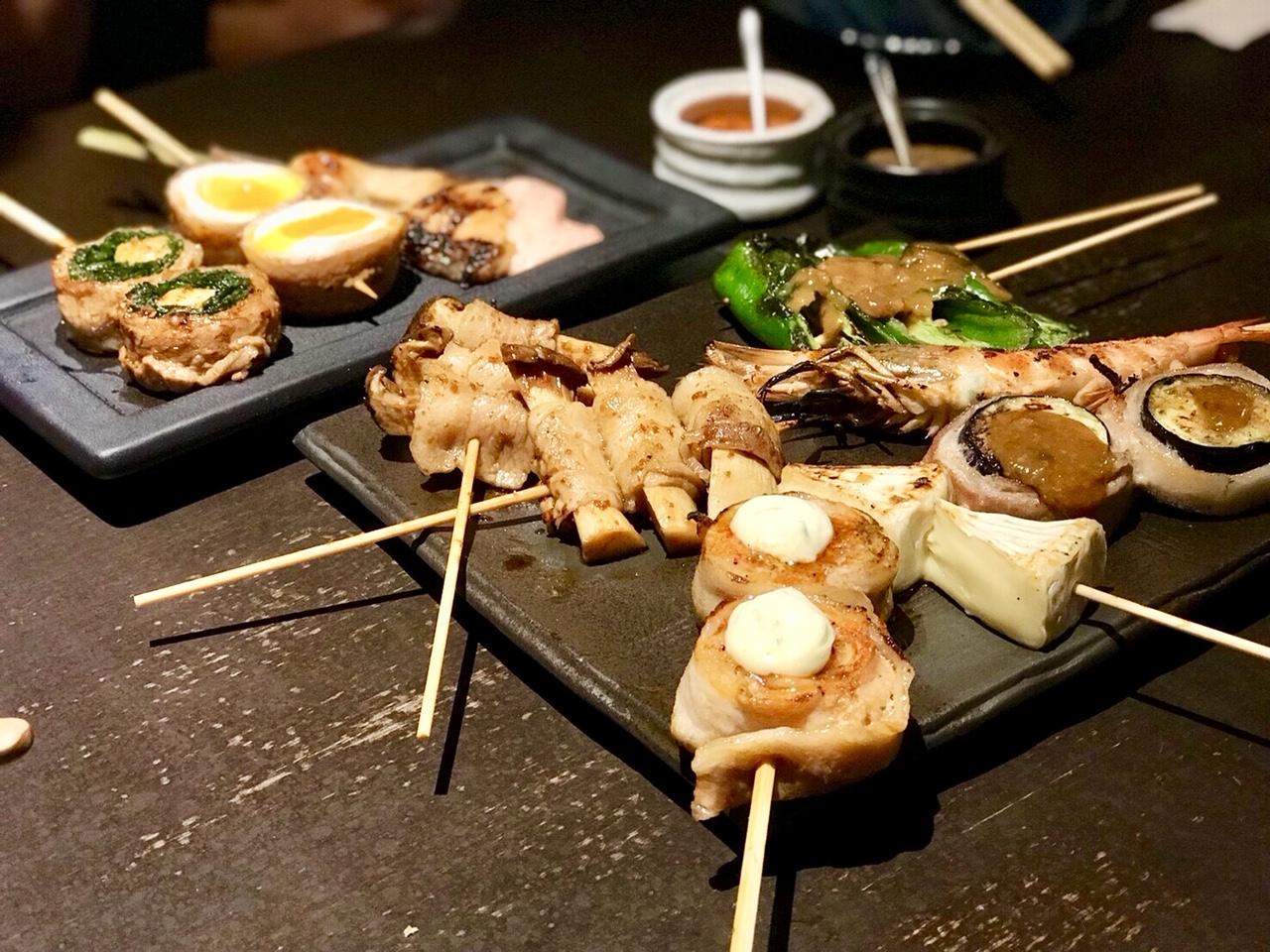 京都・先斗町でリーズナブルに串焼きを!『串焼 満天』が味・コスパ最高すぎる!