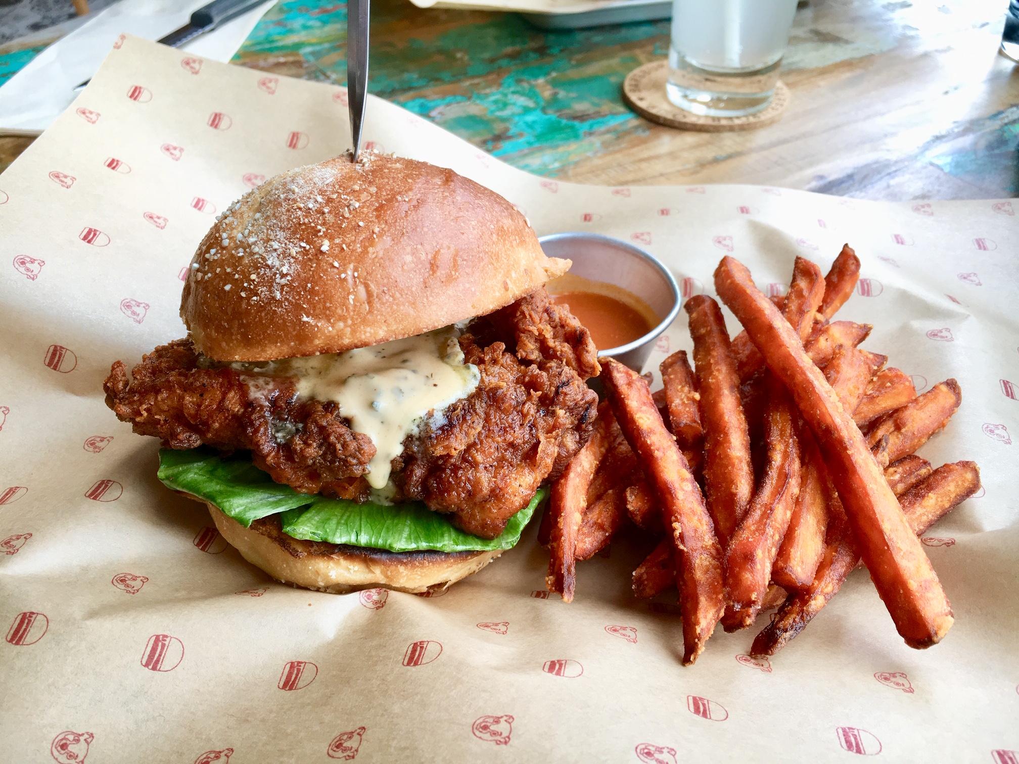 N.Y.で人気のオーガニックハンバーガーブランド日本2号店!東急プラザ銀座『Bareburger』に行ってきました☆