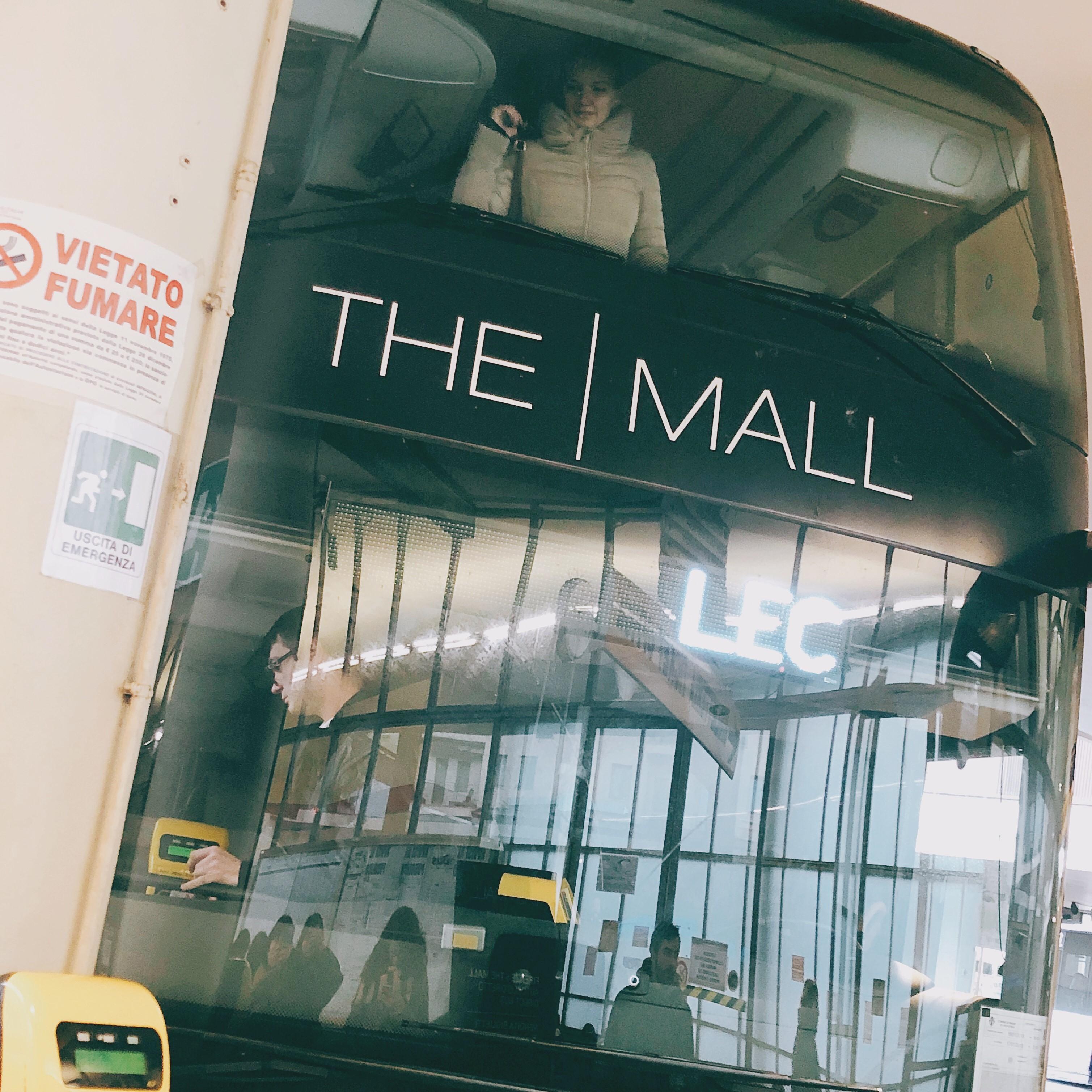 フィレンツェのアウトレットザ・モールの直行バスの画像