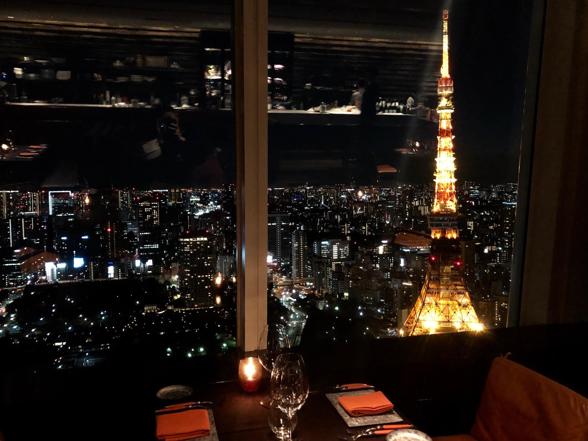 東京タワーが目の前に!XEX ATAGO GREEN HILLSの『Salvatore Cuomo Bros.』に行ってきました!