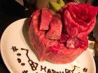 ニクアザブ恵比寿店で誕生日サプライズ!肉ケーキの値段・実際に行ってみた感想・レビュー☆
