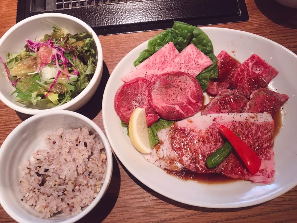 恵比寿焼肉Kintanの焼肉ランチ