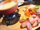 cheesetableチーズテーブルのスペシャルクリーミーチーズフォンデュの画像