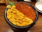 札幌『魚屋の台所』のウニいくら丼