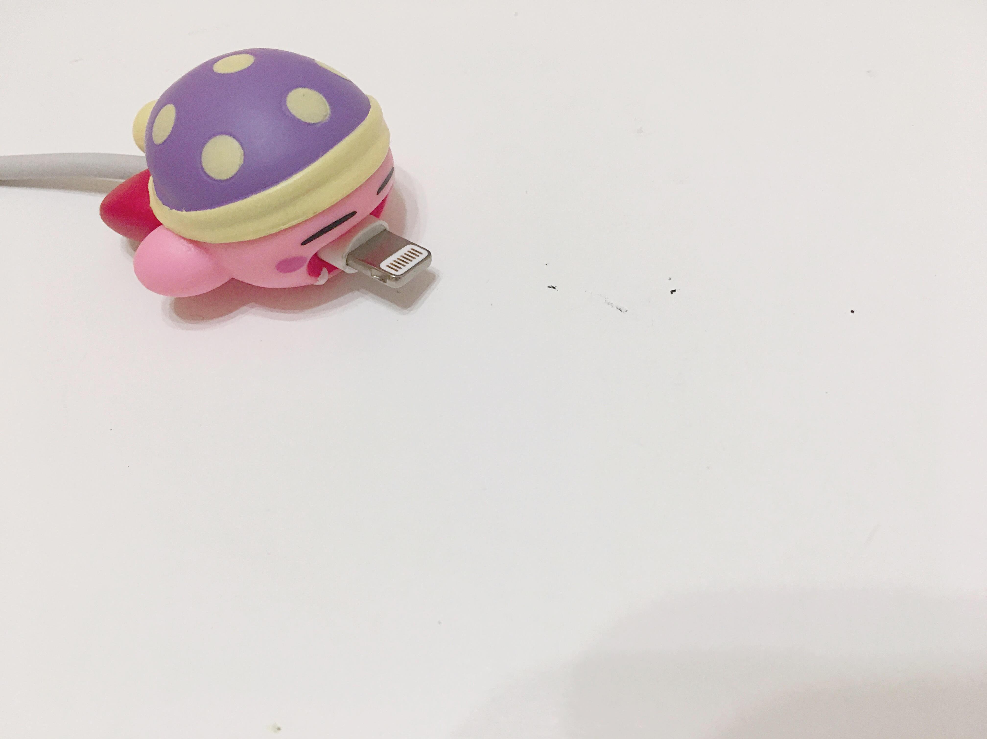 星のカービィ スリープカービィ のiPhoneケーブルバイトの画像